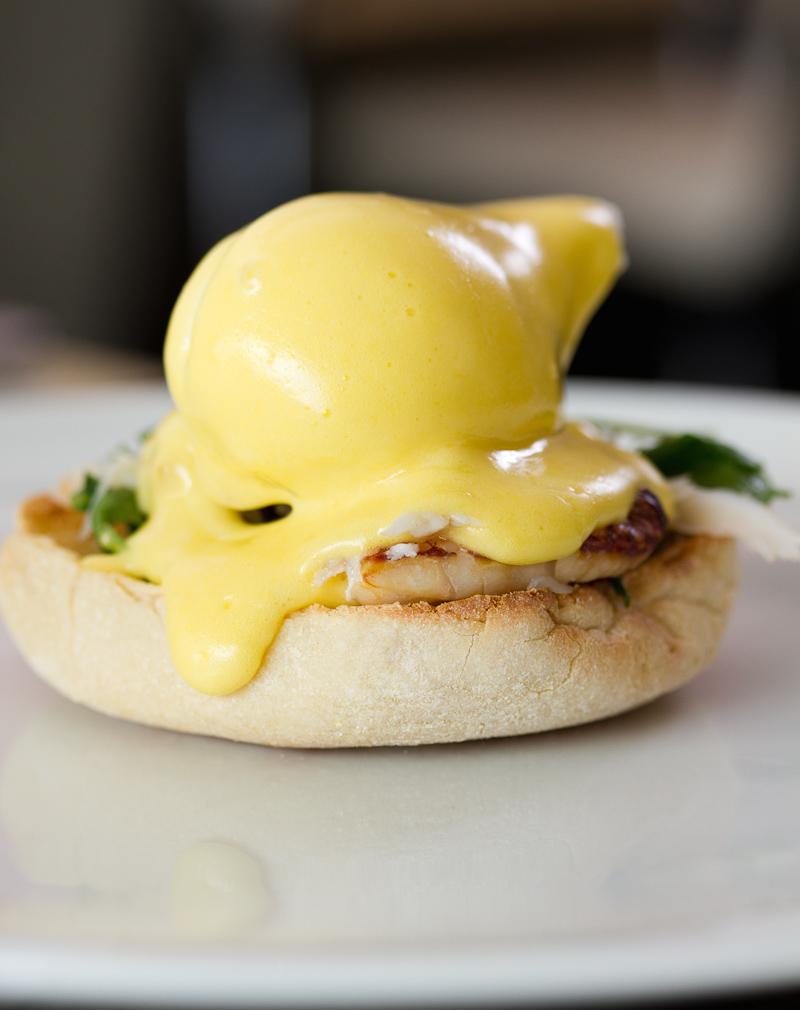 Hawksworth Restaurant_Eggs Bennedict