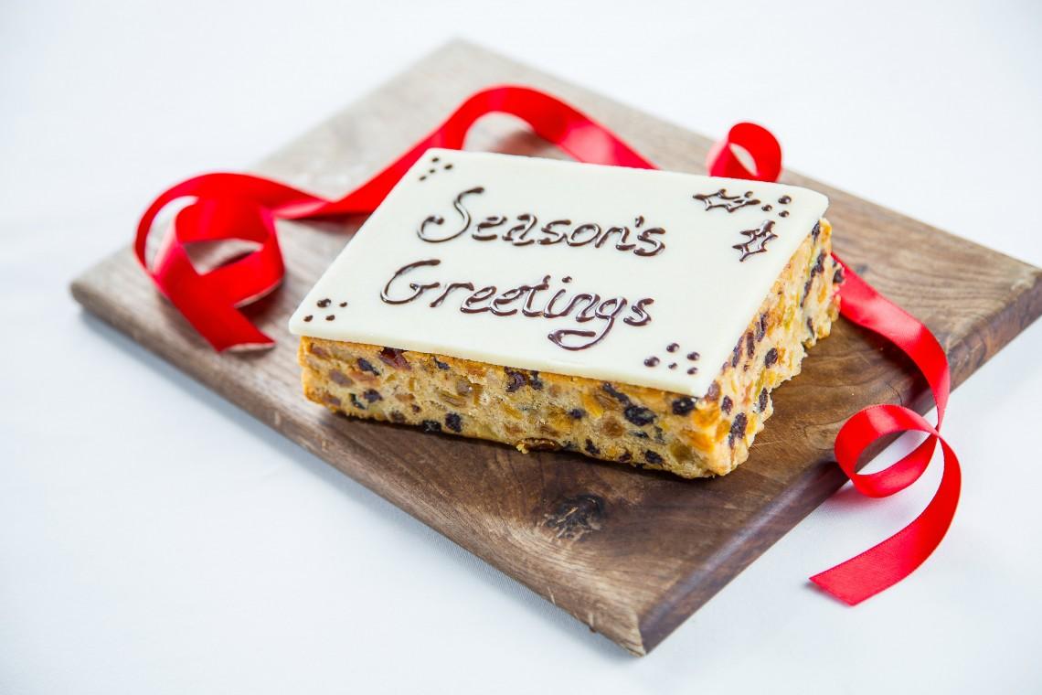 Bel Café_Christmas Cake