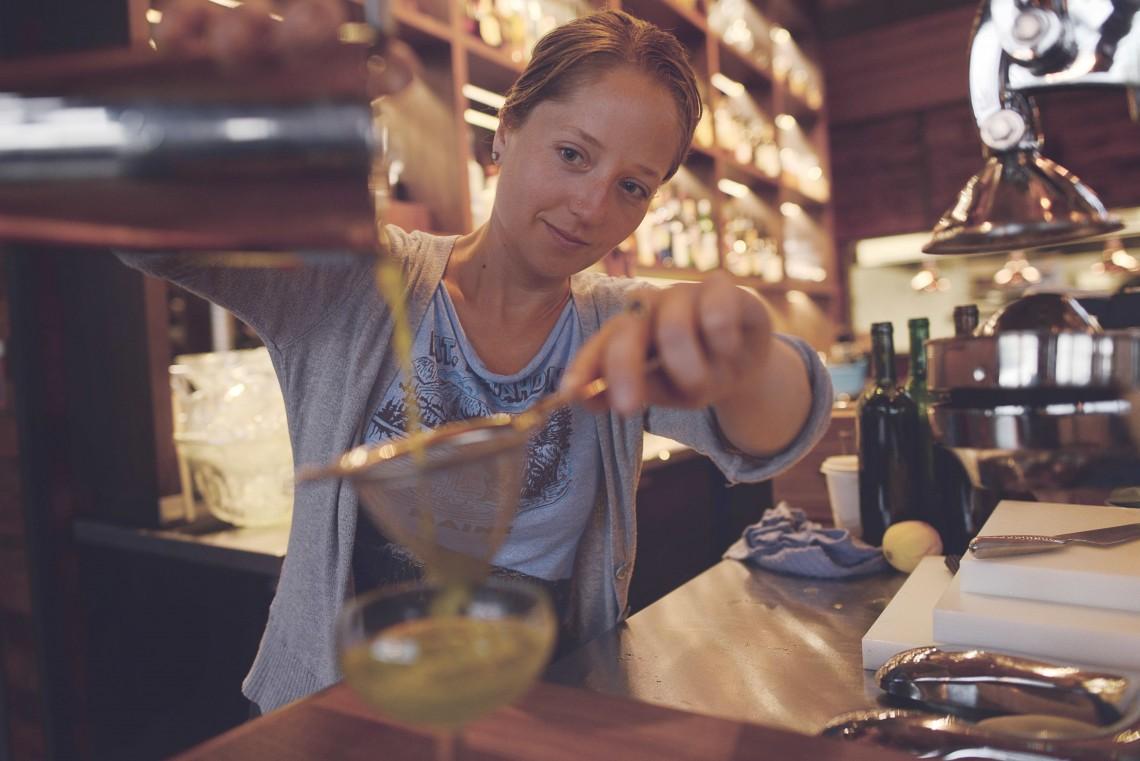 Bar Manager Hailey Pasemko
