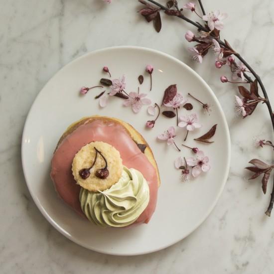 Sakura Doughnut from Lucky's